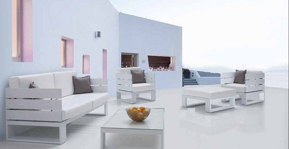 Muebles de exterior de todos los estilos