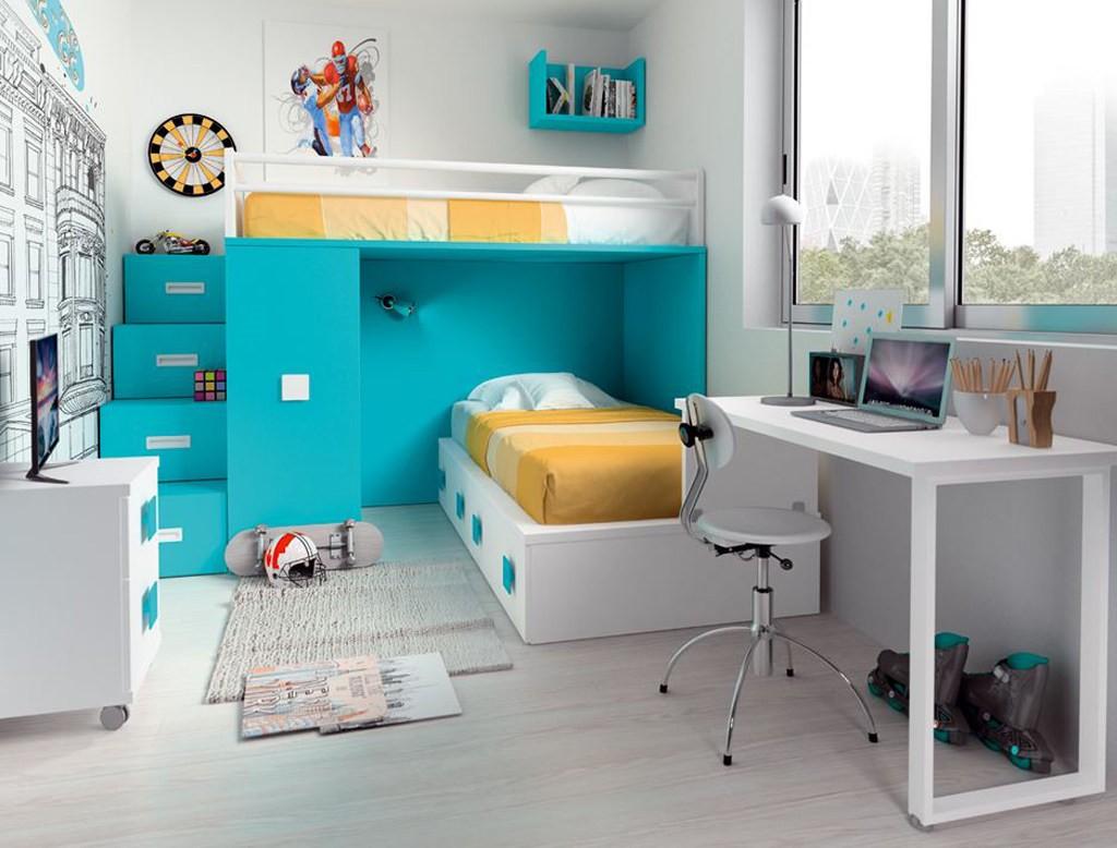 Muebles ib ez ruiz muebles de yecla dormitorios juveniles - Muebles para habitaciones pequenas juveniles ...