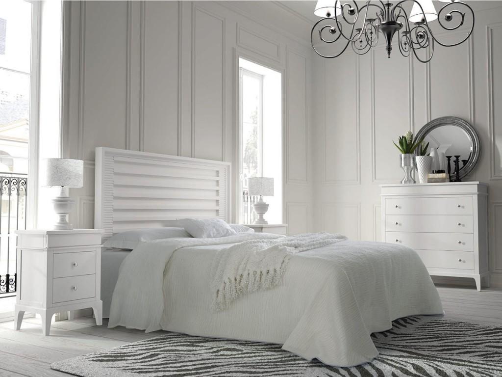Dormitorios muebles ib ez ruiz muebles de yecla for Muebles blancos dormitorio matrimonio
